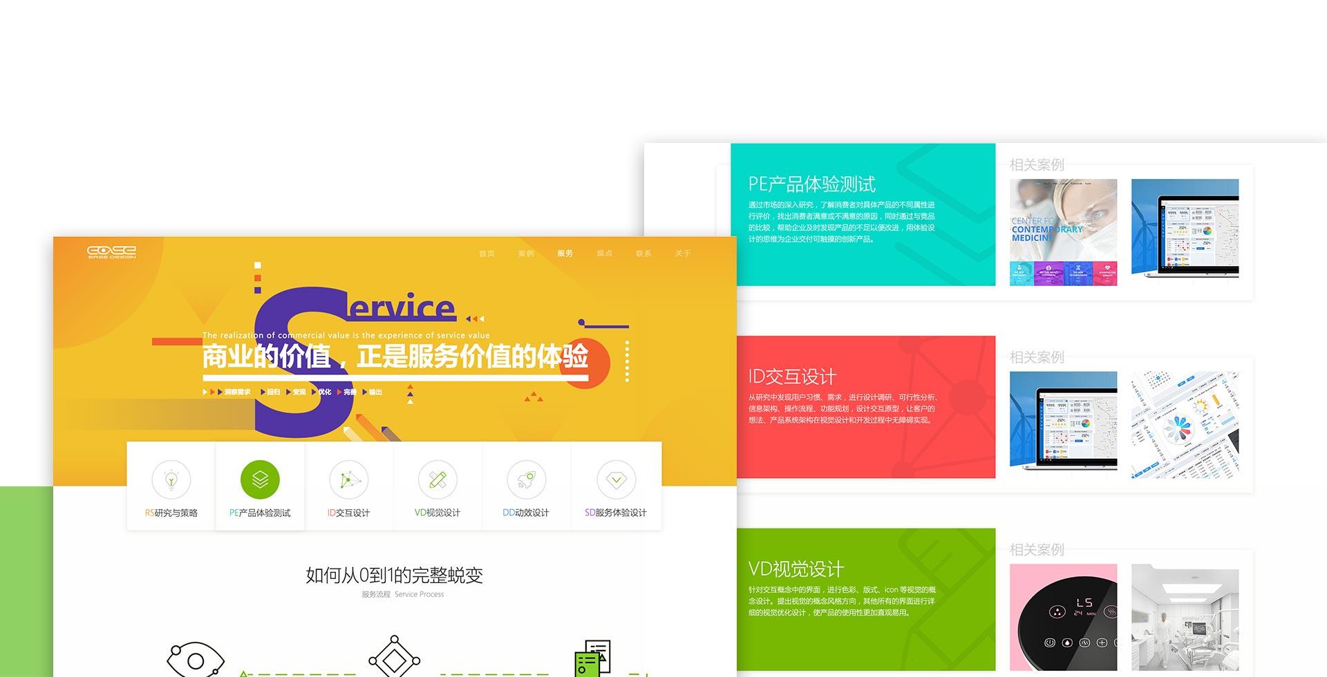 网页设计服务范围